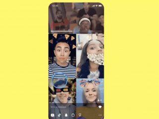 SnapchatAdds TikTok-Inspired Lenses