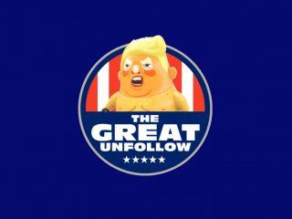 #TheGreatUnfollow